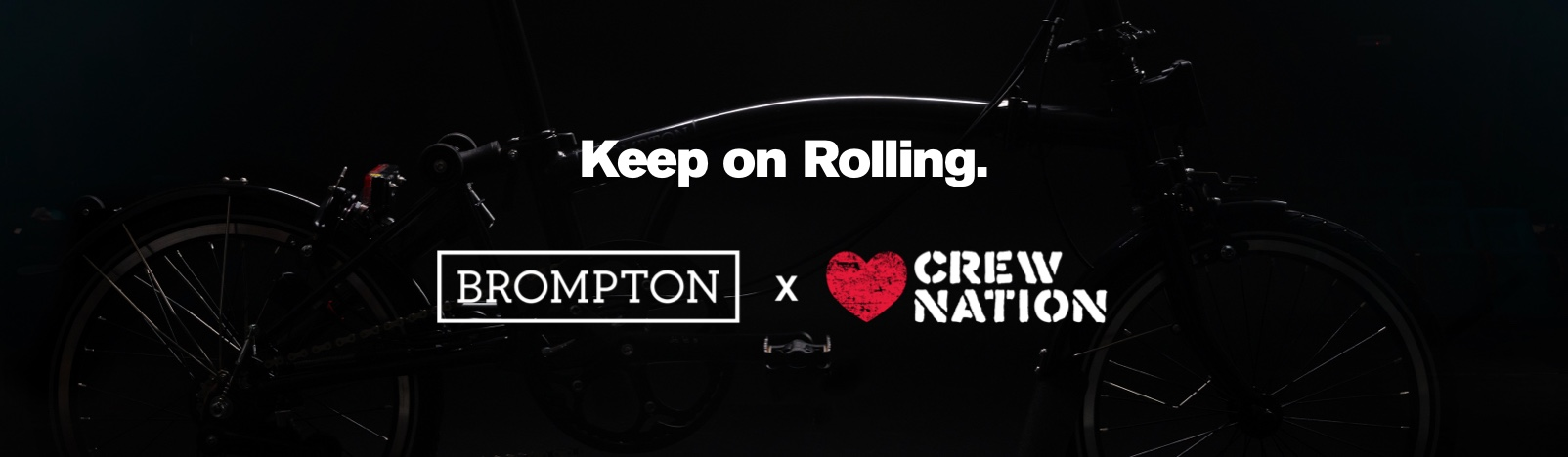 crew nation brompton bicycle